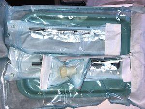 器具は単品で滅菌